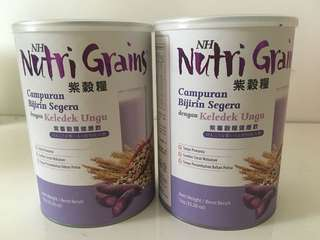 Nutrition Grains  x 3 cans with free 1  mug  Exp 2019