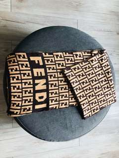 Fendi Knitted Scarf - Normal Grade