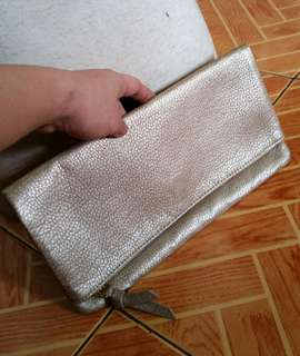 Old Navy Women's fold over Clutch bag