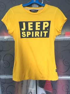 Jeep Yellow Top