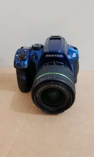 Pentax K-30 dslr with accessories