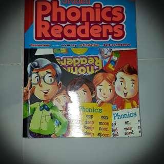 Phonics Book That Comes With CD. Suitable For Kindergarten/ Pre-schooler