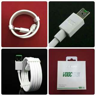 Kabel Data Cable Charger OPPO Micro USB VOOC Original 100%