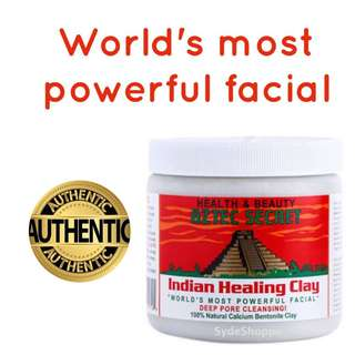 AZTEC SECRET INDIAN HEALING CALCIUM BENTONITE CLAY