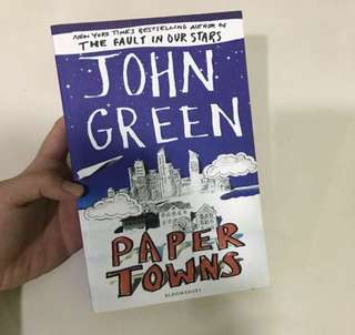 Paper Towns - John Green (Bestseller Author of The Fault In Our Stars)