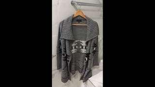 Just Jeans Aztec Knit Coat