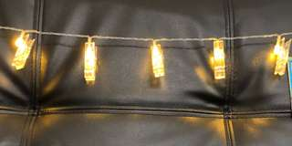 Card clip lights- 10led