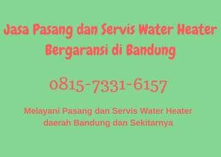 Jasa pasang water heater Bandung