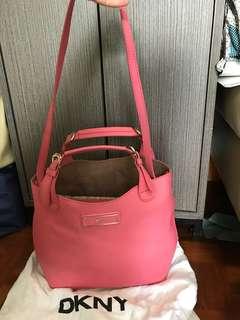 DKNY 粉紅 shoulder handbag