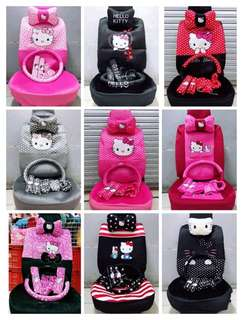 20 in 1 HELLO KITTY CAR SEAT COVER