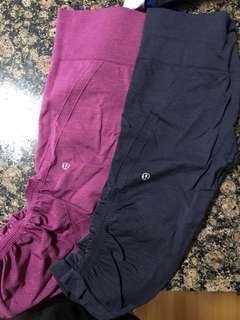 Lulu lemon cropped leggings