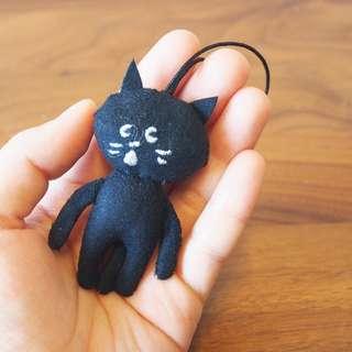 日本Ne-net Nya貓貓公仔掛飾keychain