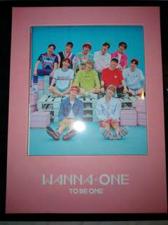 WANNA ONE TO BE ONE (PINK VER) - UNSEALED