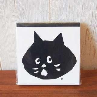 日本Ne-net Nya貓貓公仔notebook memo