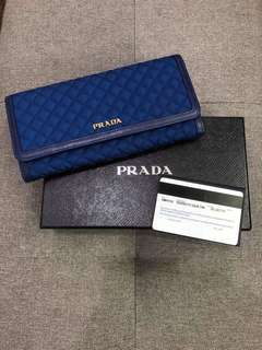 Prada quilted wallet original