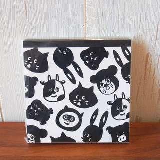 日本Ne-net Nya貓貓朋友notebook memo