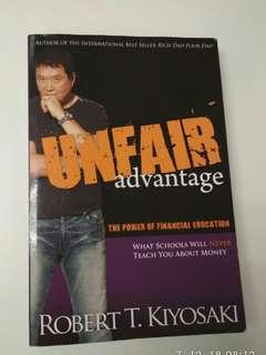 Unfair advantage,rich dad series