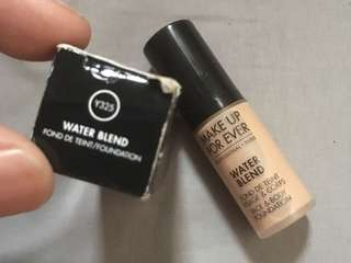 Make Up Forever Waterblend Foundation Y325