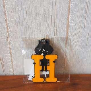日本Ne-net Nya貓貓英文字母掛飾H