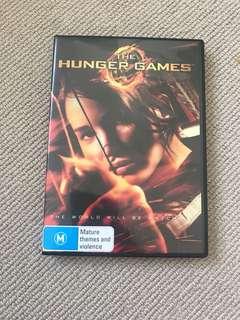 Hunger Games Movie DVD