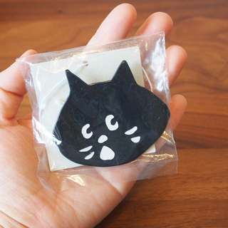 日本Ne-net Nya貓貓大頭胸針badge brooch pin