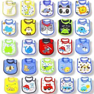 BABiES CARTERS BiB P210 each Brand : Carter's 100% Cotton Photo Credits to the Owner