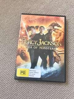 Percy Jackson sea of monsters movie DVD