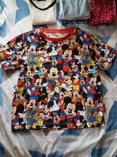 Original Mickey Mouse shirt from Hong Kong Disneyland