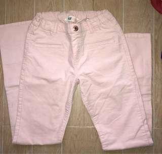 H&M light pink pants