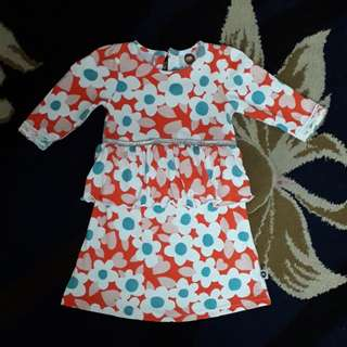 Baby girl kurung dress