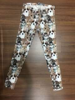 H&M Girl's Legging - Animals print
