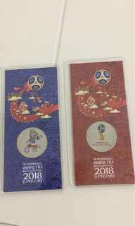 World Cup FIFA Russia 2018 Official Coins
