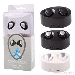 🚚 ⭐️TWS Bluetooth ear buds for daily commute use! 4 hours usage per charge
