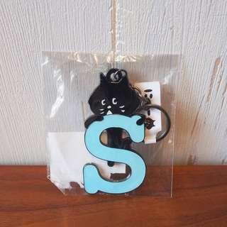 日本Ne-net Nya貓貓英文字母掛飾S