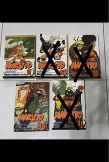 Naruto Manga Comic Books @ $4 each (Vol #11, 46)