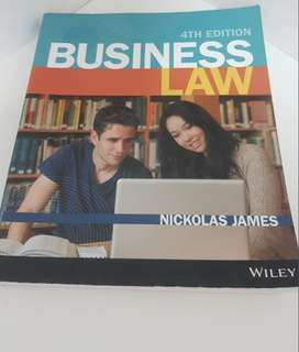 Commercial law textbook 4th edition + cheatsheets and testbanks