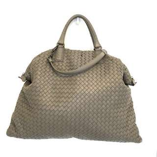 BV Bottega Veneta 4-Way Grey Convertible Tote