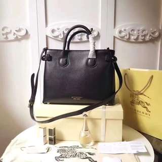 Burberry handy bag with strap