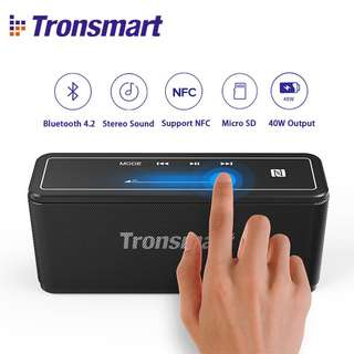 🚚 ⭐️ Tronsmart Mega Bluetooth speaker with NFC, Touch Panel. 40W power