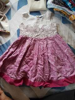 Periwinkle Dress for Toddlers