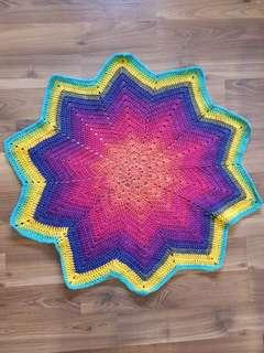 Handmade Crochet Blanket or Mat