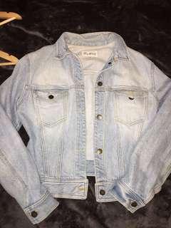 Vintage Paris blues denim jacket