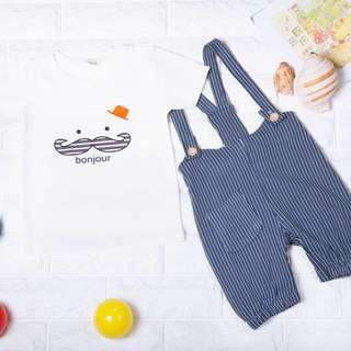 🚚 Instock - 2pc bonjour Set, spring summer 2018 collection