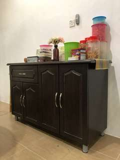 Kitchen Cabinet - tiled top for sale (Excellent conditio )