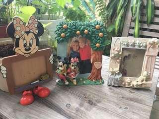 Photo frames , Minnie n Mickey , cats