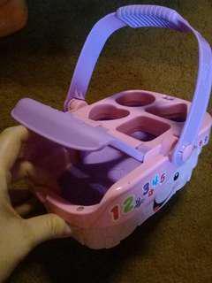 Musical basket