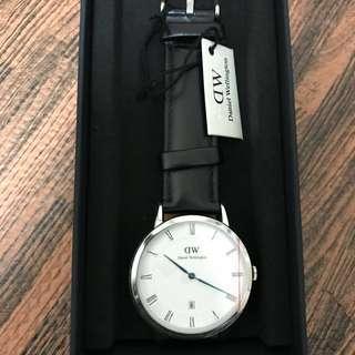 🚚 daniel wellington DW手錶 藍指針 38mm 一年保固 全新正品