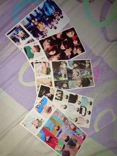 Exo postcard + mini poker