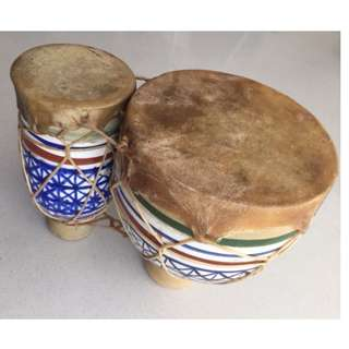Moroccan Style Bongo Drums