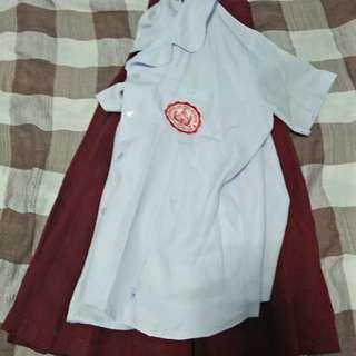 Sindalan highschool uniform